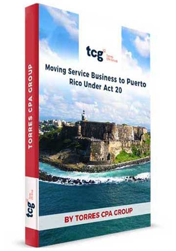 Moving Service Business to Puerto Rico Under Act 20